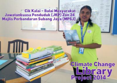 Climate Change Library Project 2014 - JKP Zon 24