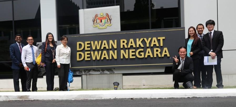Laporan Lawatan ke Parlimen Malaysia – Oktober 2015
