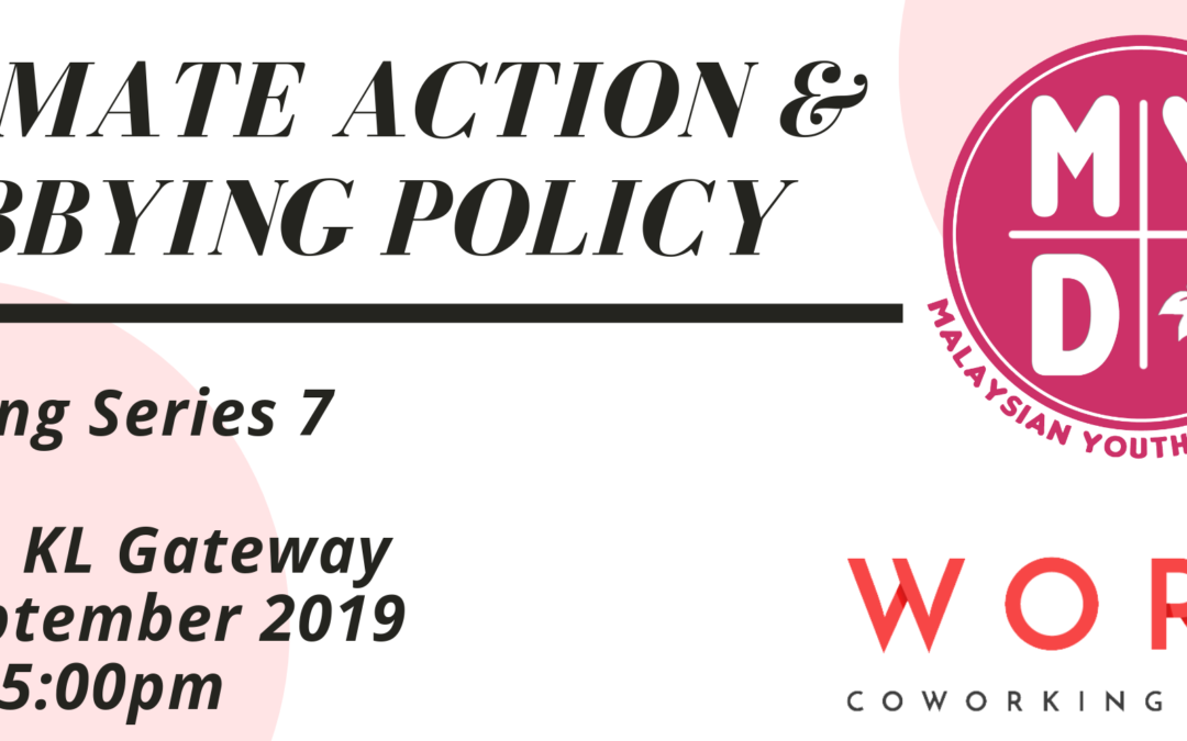 Training Series #7: Climate Action & Lobbying Policy