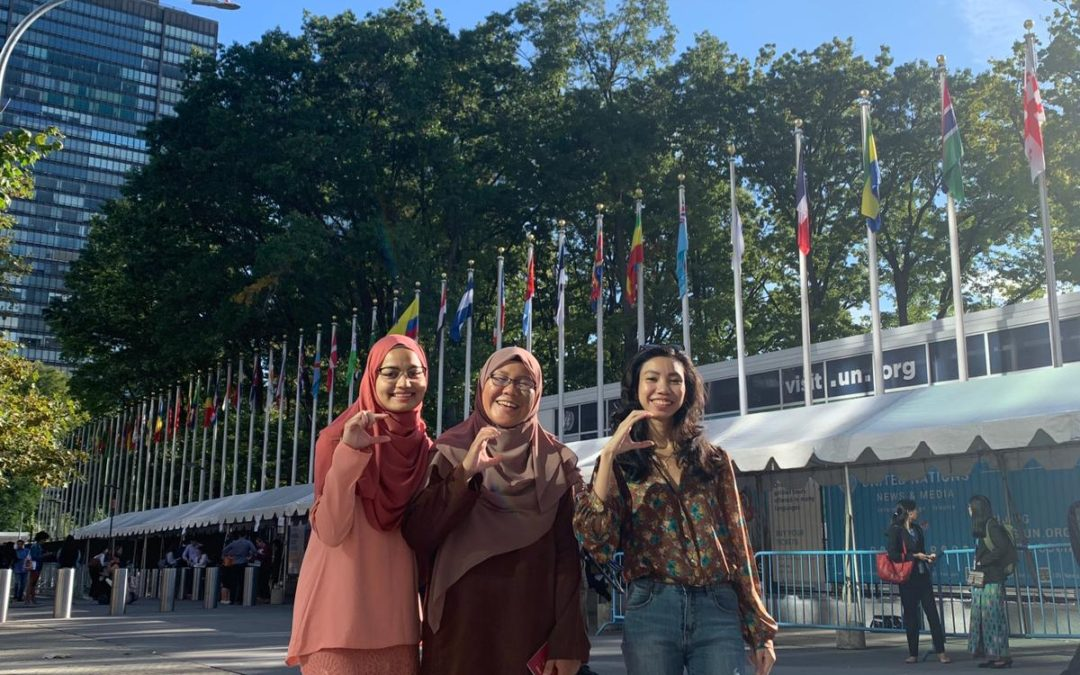 "Malaysian Youth Awarded United Nations' ""Green Ticket"" to Attend the Youth Climate Summit in New York"